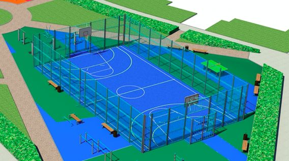 Разработка 3D-моделей спортивных объектов