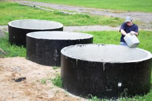 устройство водоотведения