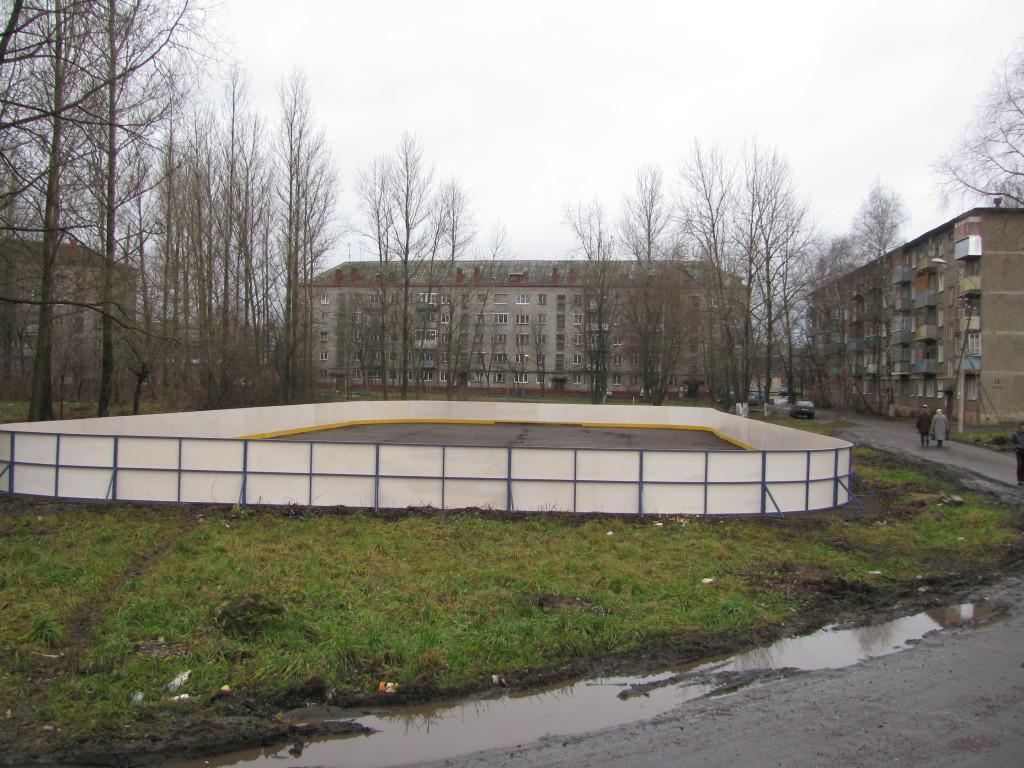 хоккейная коробка рыбинск