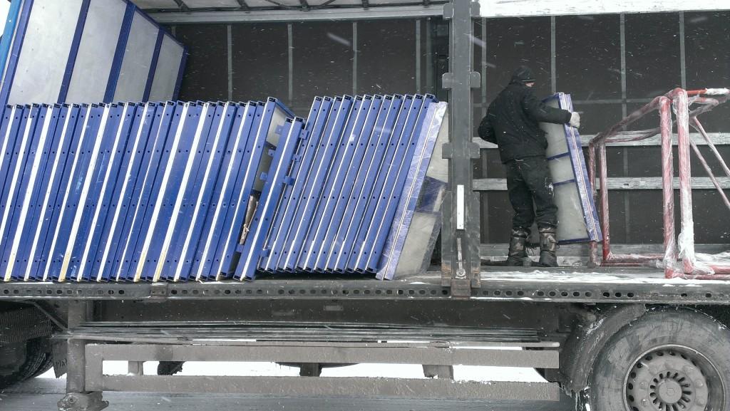 отправка готового изделия