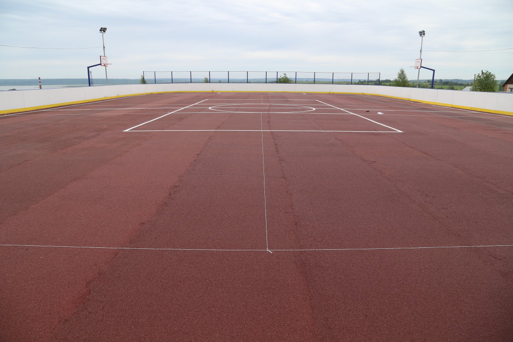 Спортплощадка в г. Галич Кострома