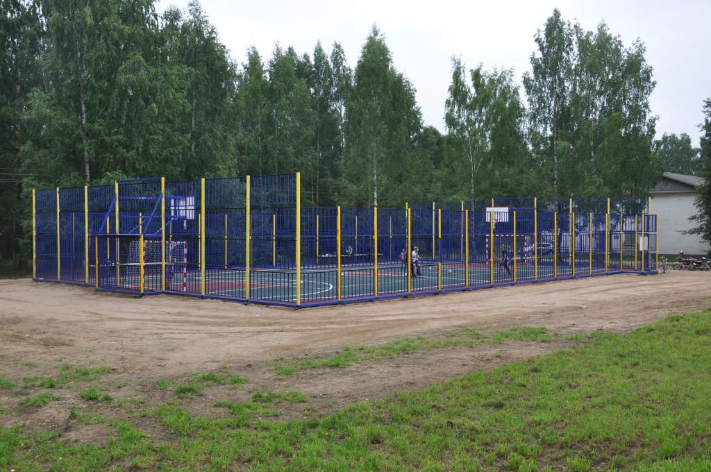 Спортплощадка в с. Брейтово Ярославской области