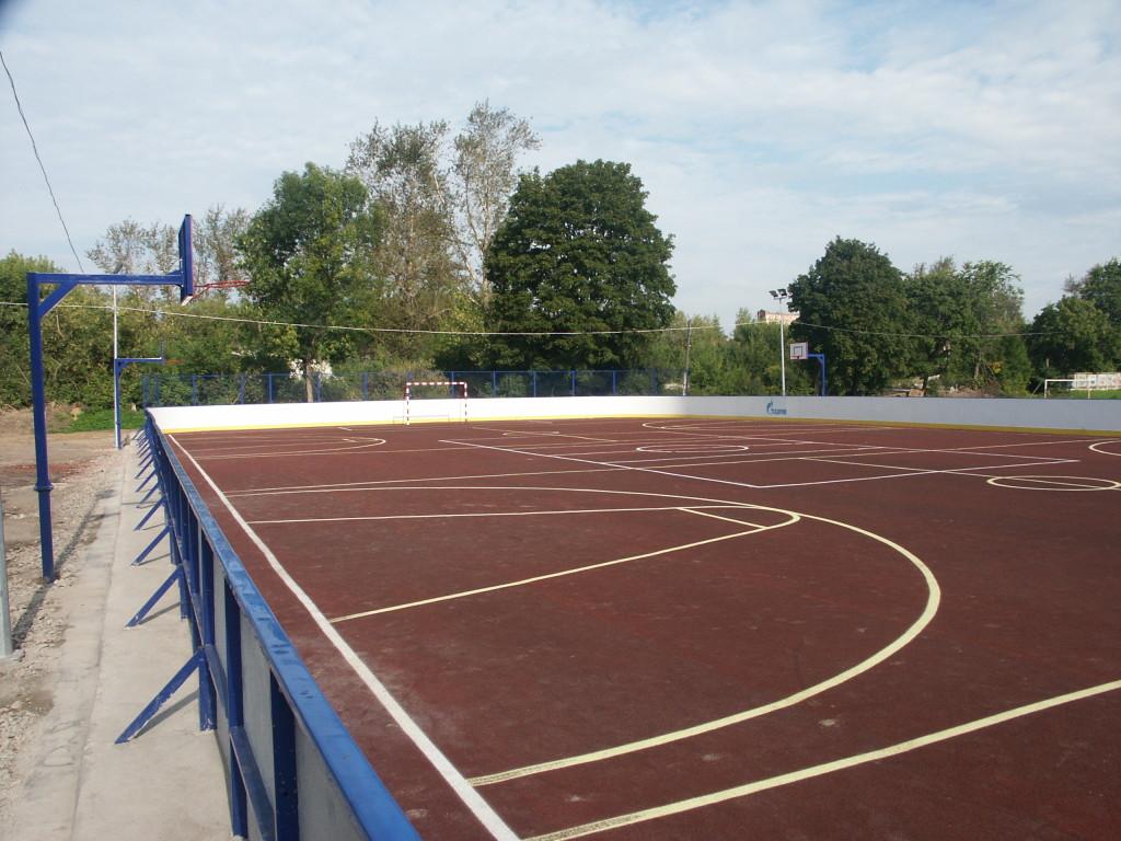 Спортплощадка в г. Нерехта Кострома