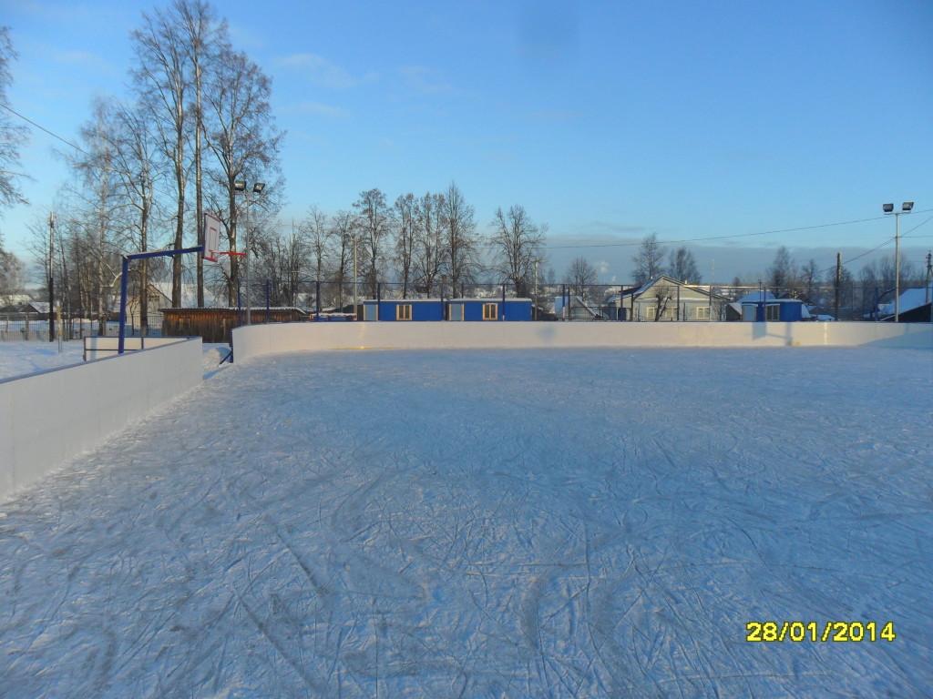 Спортплощадка в п. Кадый Кострома