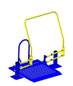 Тренажер для инвалидов Подтягивание на платформе