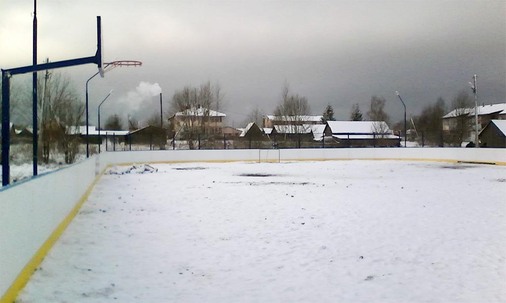 Хоккейная коробка в Борисово-Судское - Формат-спорт