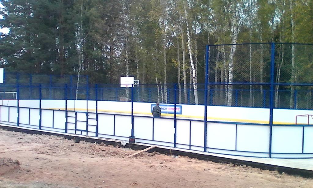 Баскетбольная площадка в Можайске - Формат-спорт