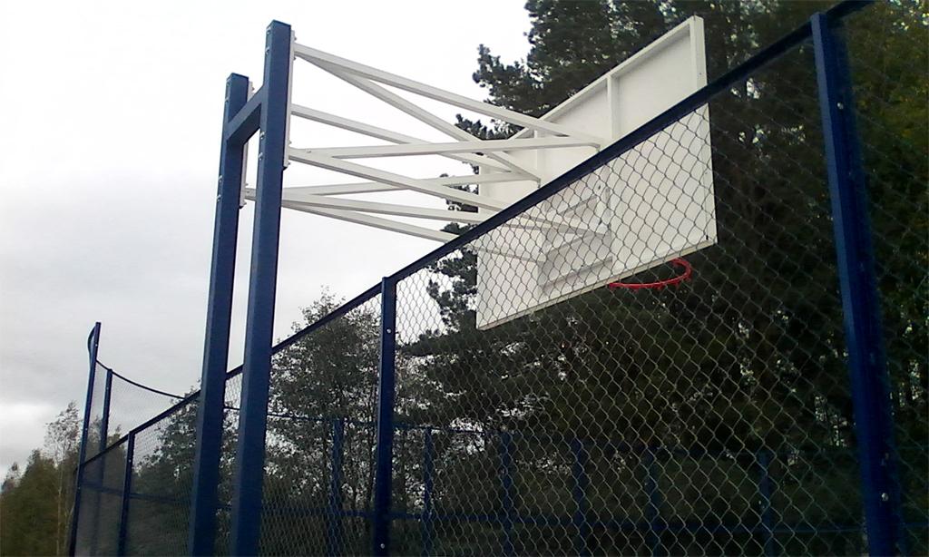 Баскетбольный щит в Можайске - Формат-спорт