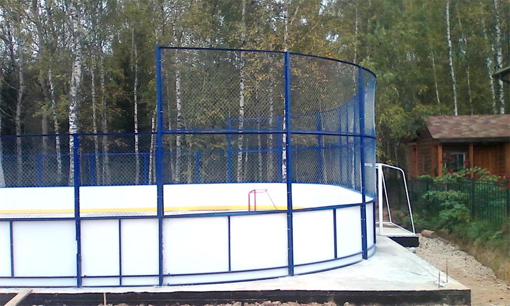 Хоккейный корт в Можайске - Формат-спорт
