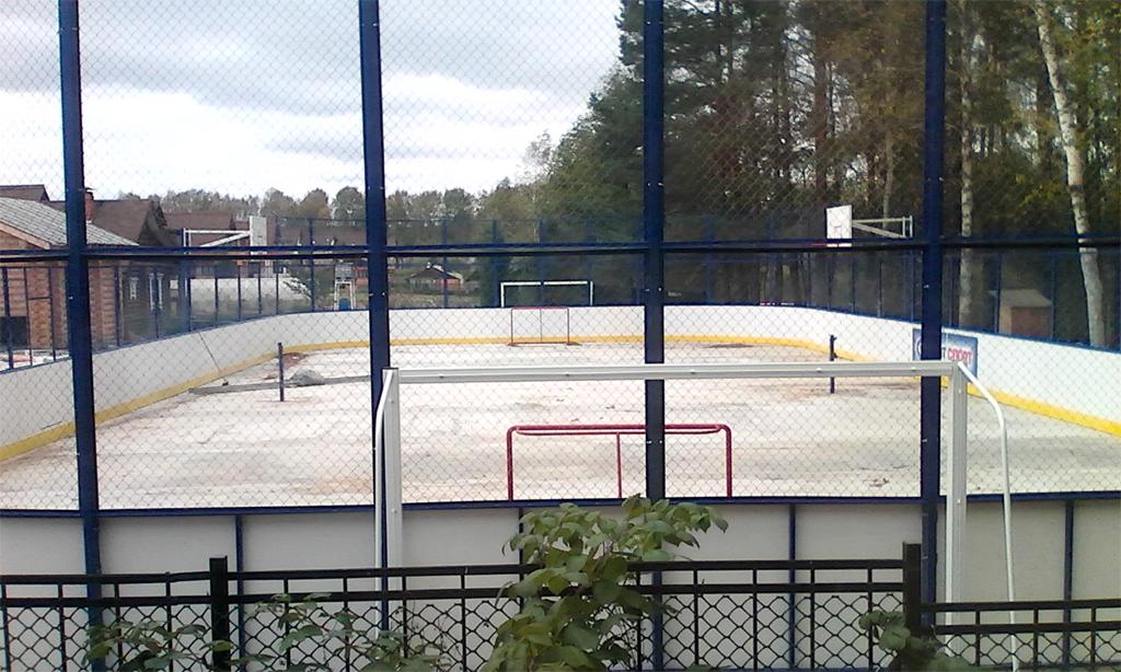 Хоккейные ворота в Можайске - Формат-спорт