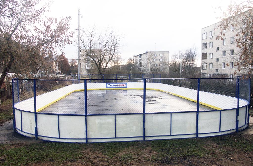 Хоккейная коробка в Поречье - Формат-спорт