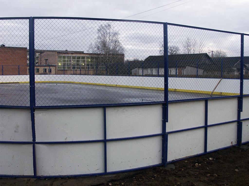 Хоккейный корт в Новолотошино - Формат-спорт