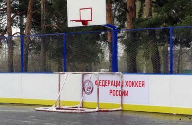 Хоккейная коробка в Ветлужском районе