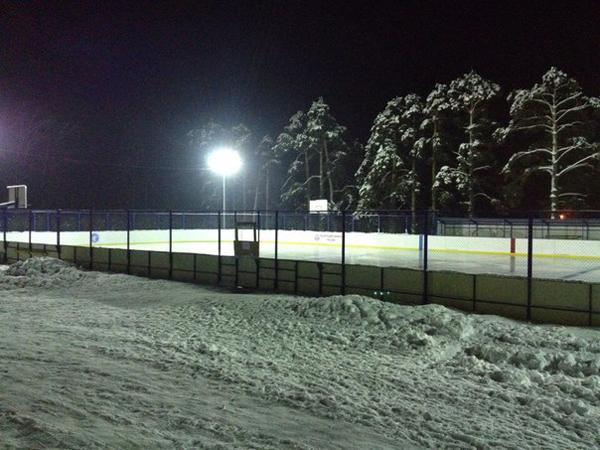 Хоккейный корт в Ветлужском районе - Формат-спорт
