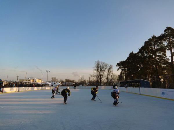 Хоккейная коробка в Ветлужском районе - Формат-спорт