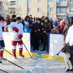 Хоккейная коробка в п.Ишня