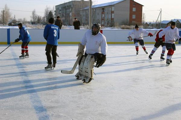 Хоккейный корт в п.Ишня - Формат-спорт