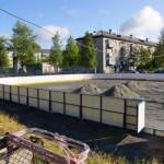 Хоккейная коробка в Архангельске