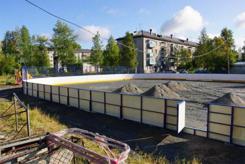 Хоккейная коробка в Архангельске - Формат-спорт