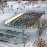 Хоккейный корт в Оренбурге