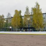 Хоккейный корт в Суоярви