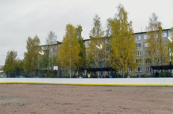 Хоккейный корт в Суоярви - Формат-спорт