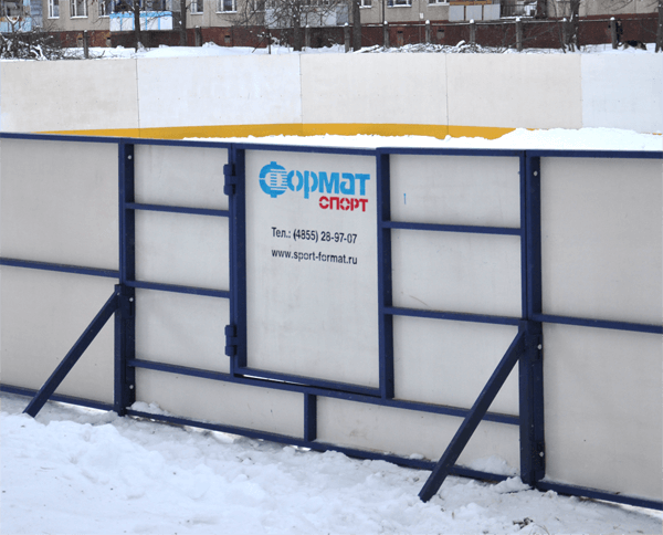 хоккейные коробки из фанеры