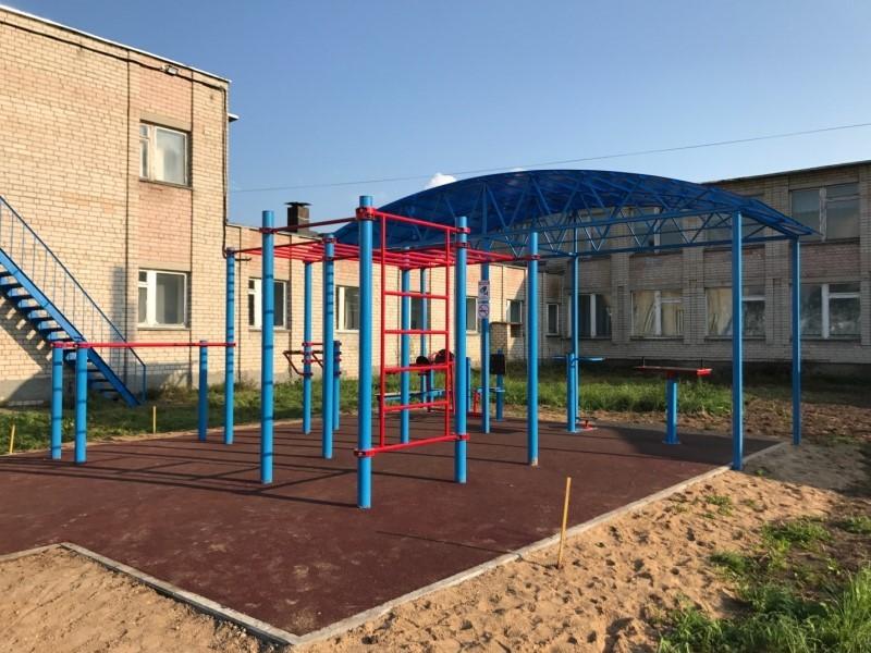 Воркаут площадки (Ярославская обл.) 2